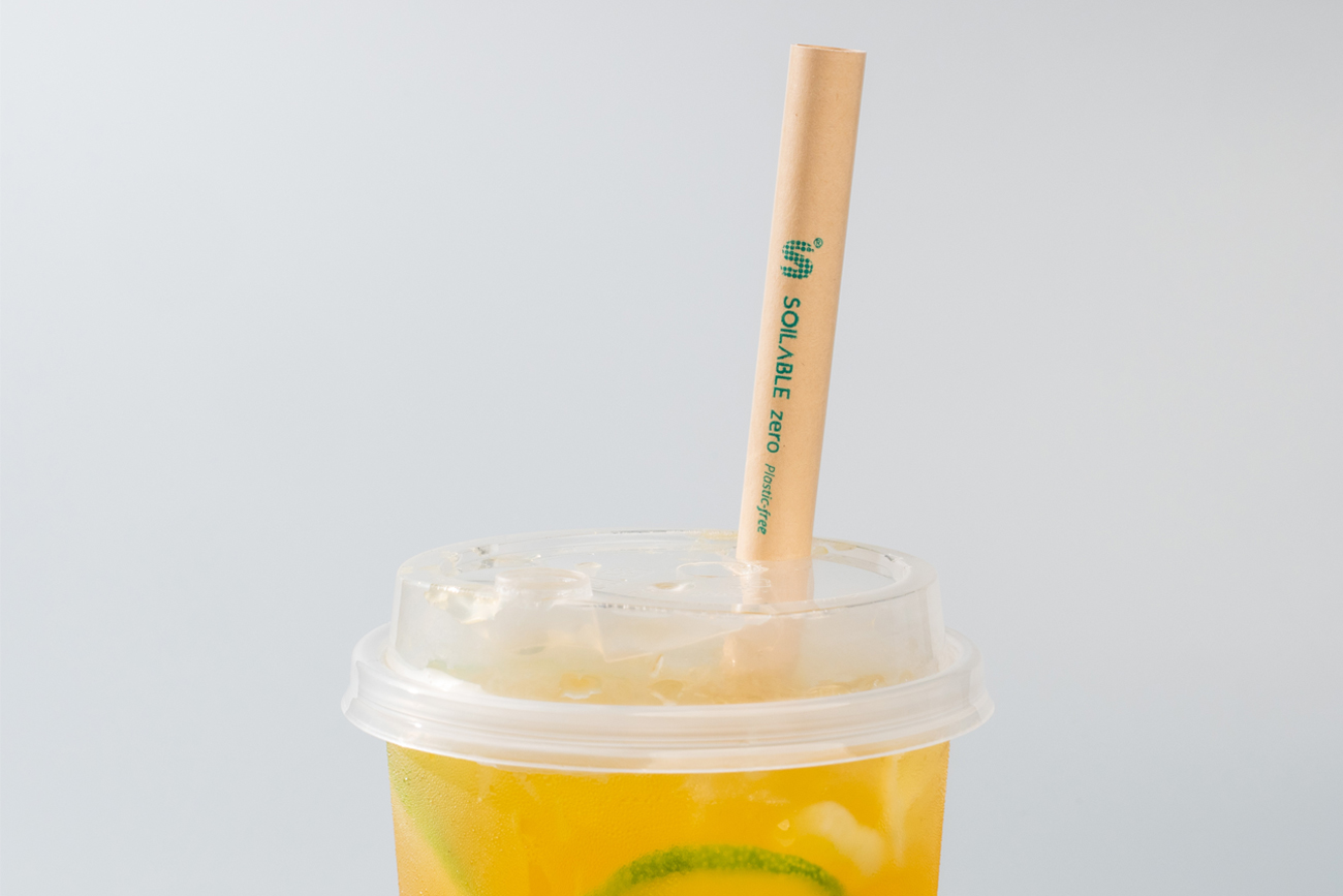 Soilable Paper Straw Hong Kong wholesaler and manufacturer Soilable 香港紙吸管供應及訂造 Normal Paper Straw why_soilable_image1